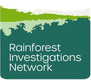 Rainforest Investigations Network logo